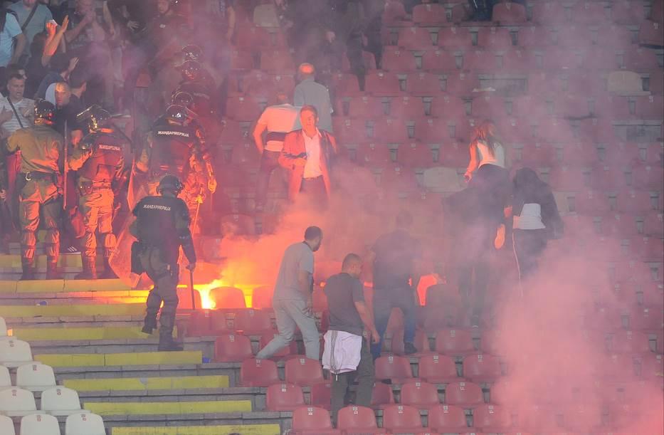 derbi, večiti derbi, Partizan, Crvena zvezda, navijači