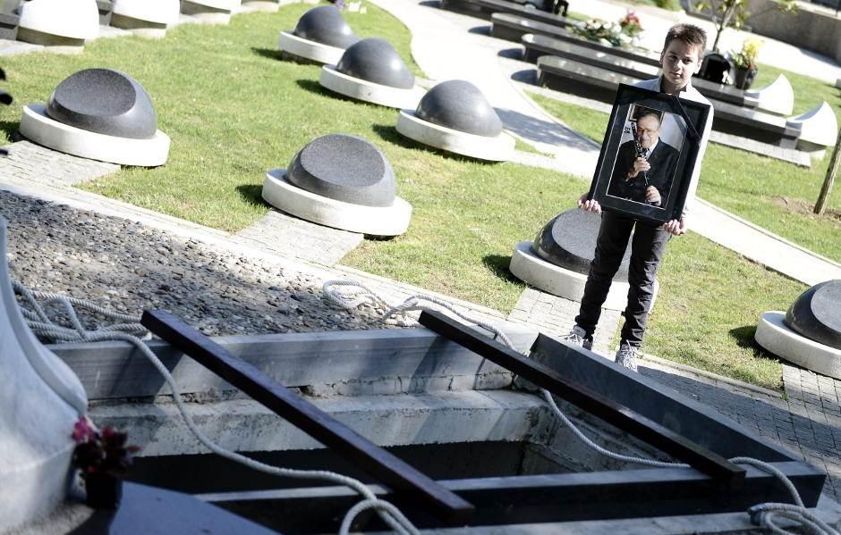 Boki Milošević sahranjen u Aleji zaslužnih građana