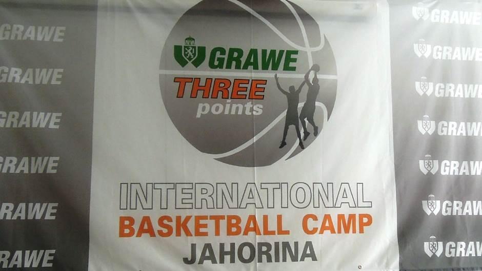 Grawe Three Points Jahorina 2018 košarkaški kamp