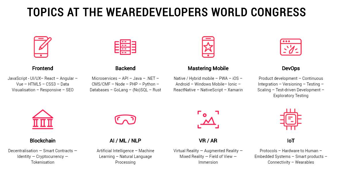 #wearedevelopers