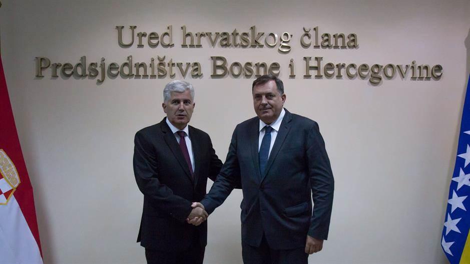 Dodik i Čović dogovorili koaliciju SNSD-a i HDZ-a