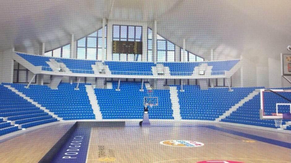 """Ovako će izgledati dvorana """"Morača"""" (FOTO)"""