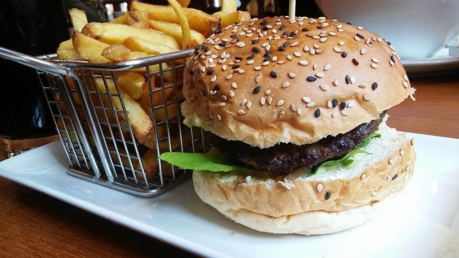 brza hrana, hamburger, pomfrit, fast food