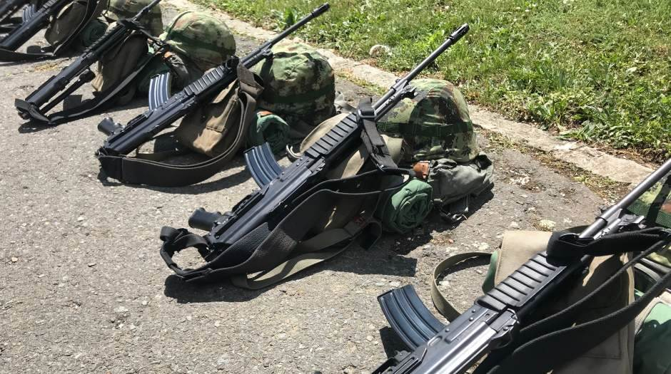 vojska, puška, vojna akademija, naoružanje