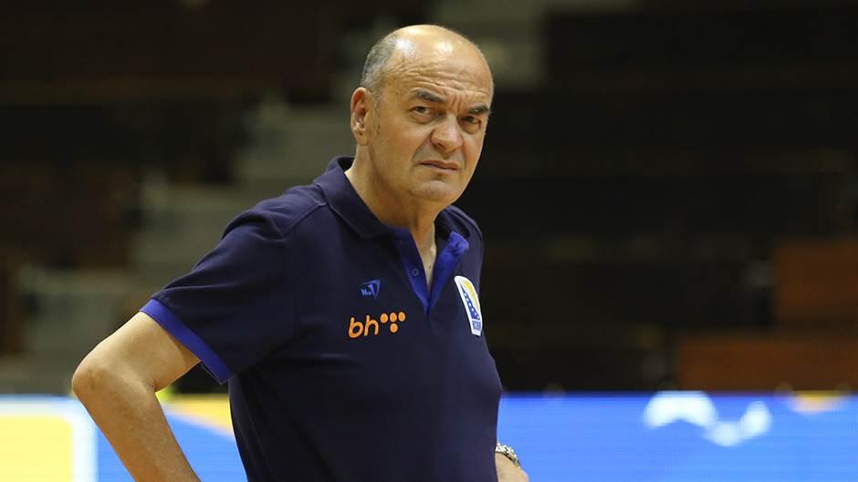 Duško Vujošević, selektor reprezentacije BiH