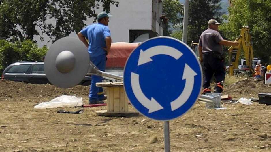 Kruženje novim kružnim tokom u Banjaluci VIDEO