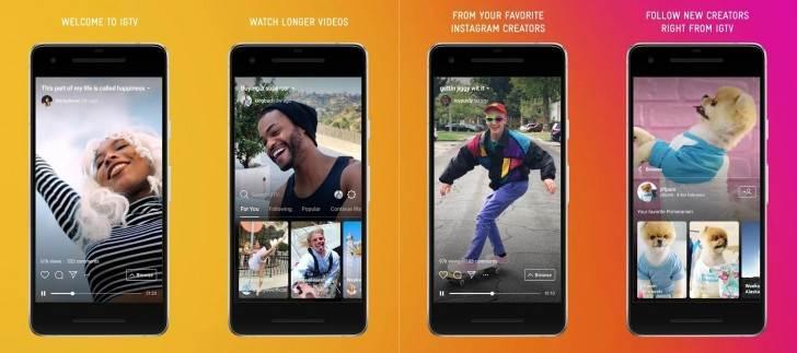 Instagram IGTV aplikacija video sat vremena