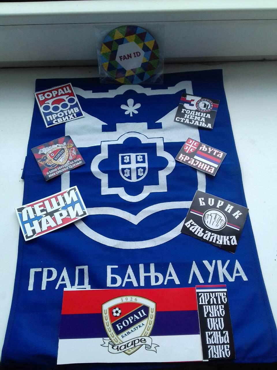 Borčeva zastava vijori se i u Rusiji! (FOTO)