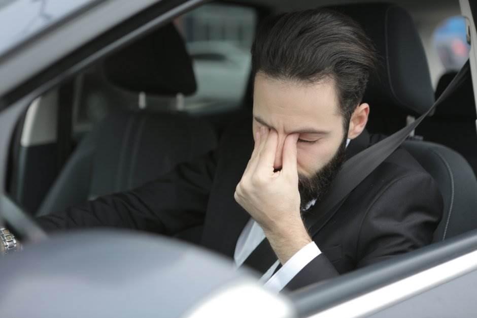 vožnja, vozač, stres, nervoza