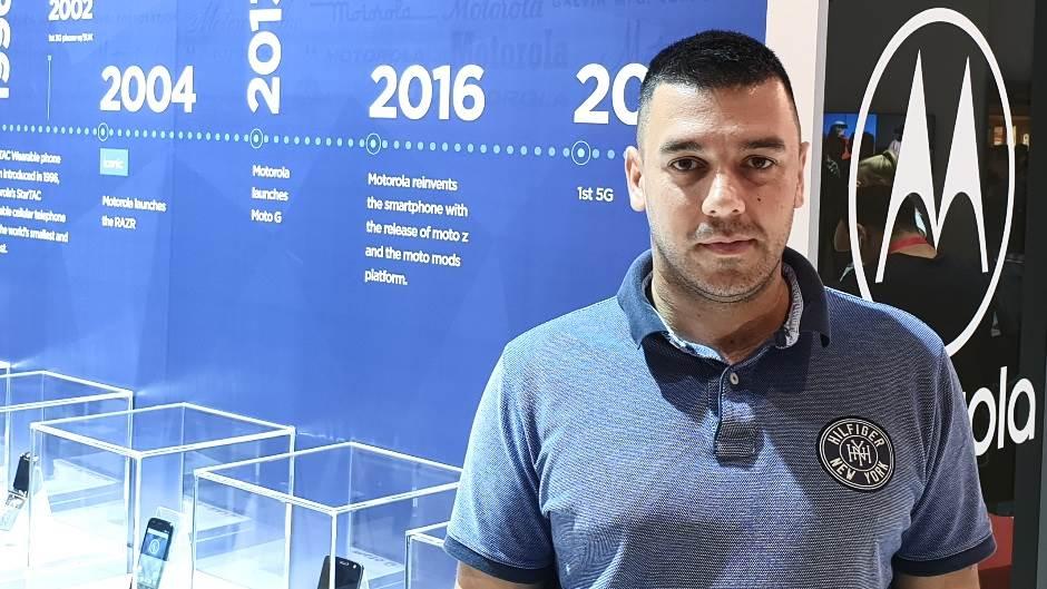 Vladimir Ostojic Motorola, Motorola Srbija, IFA2018