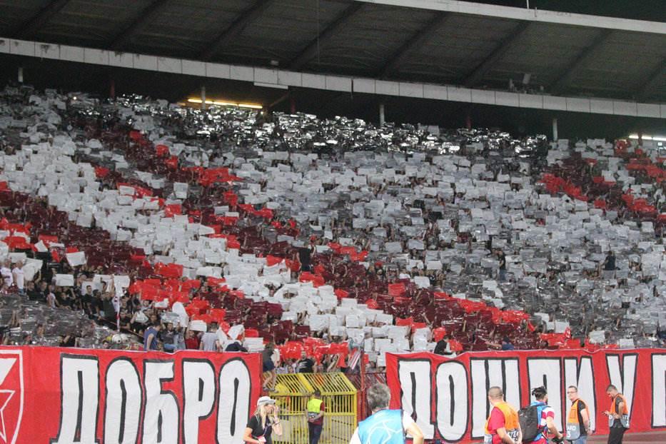 """""""Marakana"""" odoljela Napoliju - veliki bod Zvezde!"""