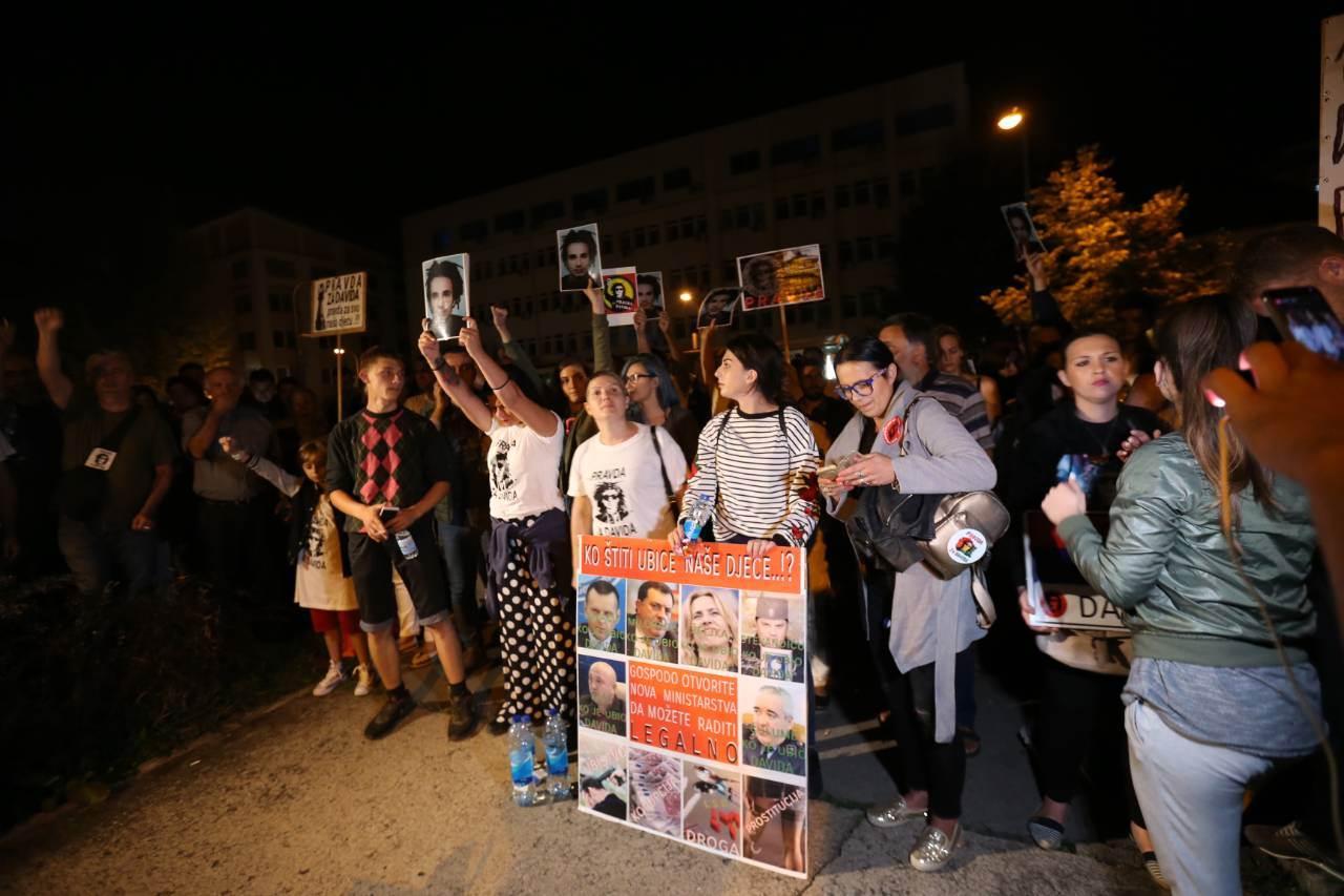 Dragičević noći ispred policije, napadač priveden