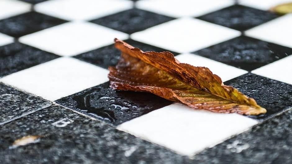 jesen, list, kiša, nevreme