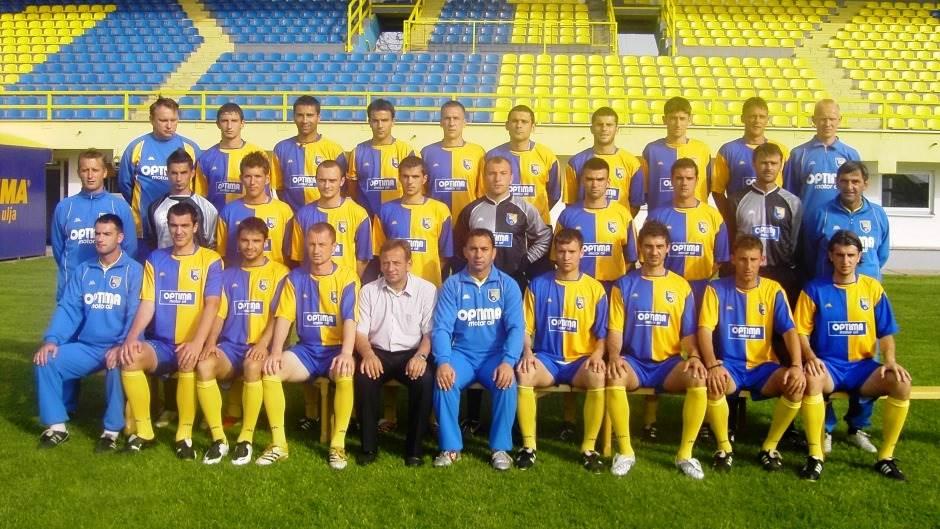 FK Modriča Maxima - šampion BiH 2008. godine