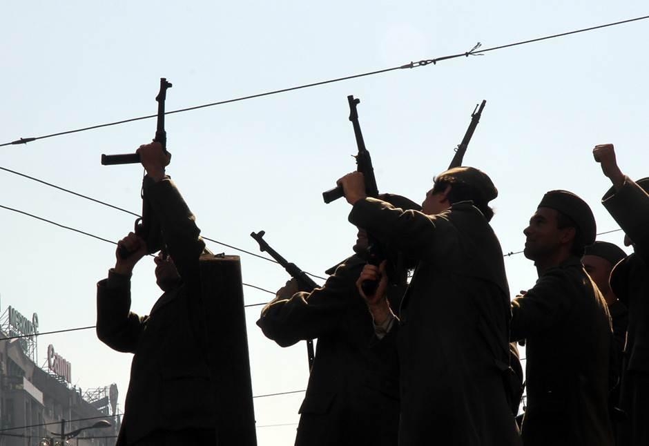 oslobođenje beograda, partizani, drugi svetski rat, beograd,