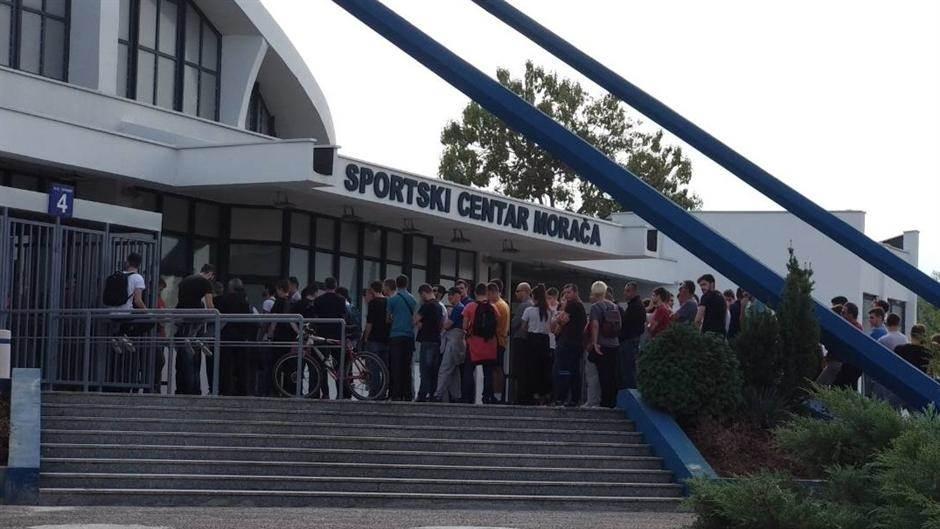 Morača, dvorana Morača, Podgorica