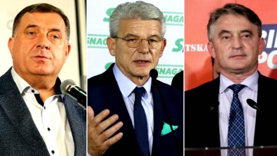 CIK, zvanično: Vode Dodik, Džaferović i Komšić