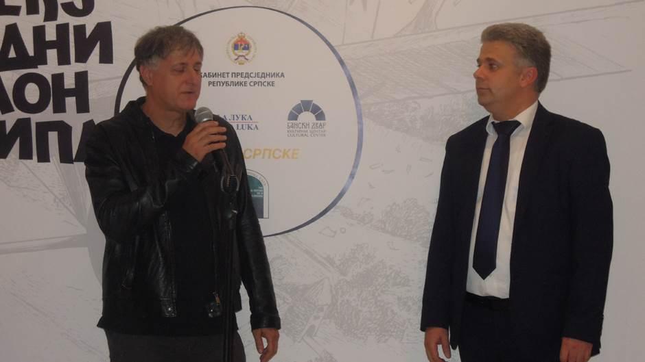Aleksandar Zograf (Saša Rakezić) i Zoran Pejić