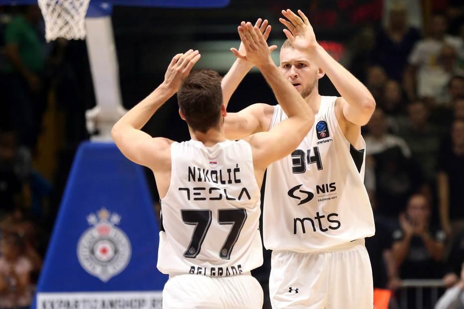 Aleksej Nikolić Džok Lendejl KK Partizan