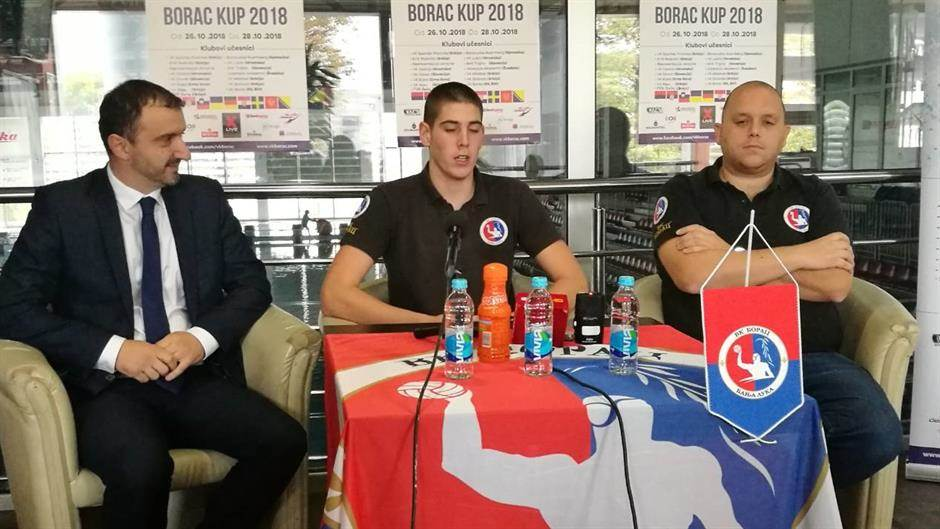 VK Borac, Vaterpolo, Luka Novak