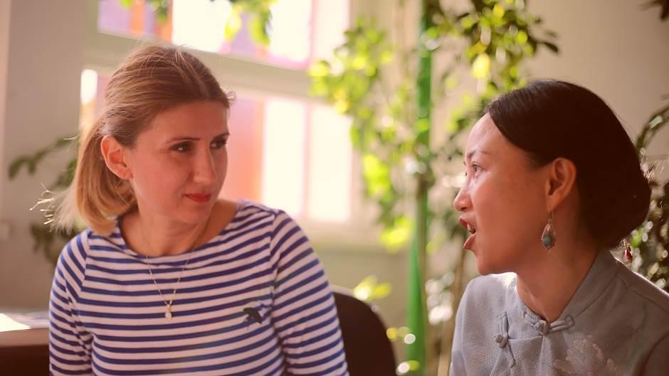 Ljiljana Stević i Cai Jing