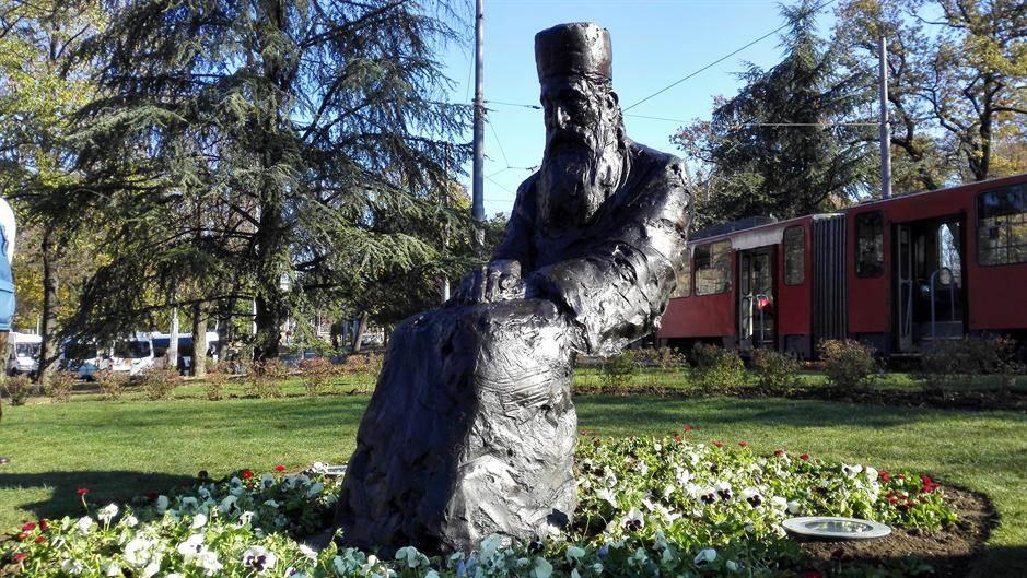 tašmajdan patrijarh pavle spomenik
