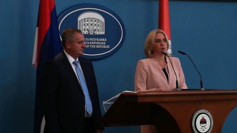 Radovan Višković, Željka Cvijanović