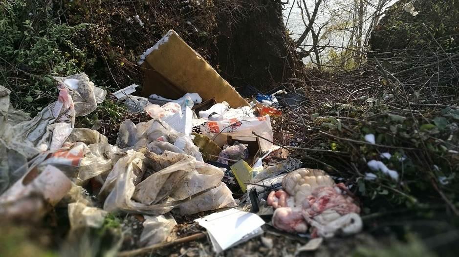 deponija, smeće, otpad, životinjski otpad