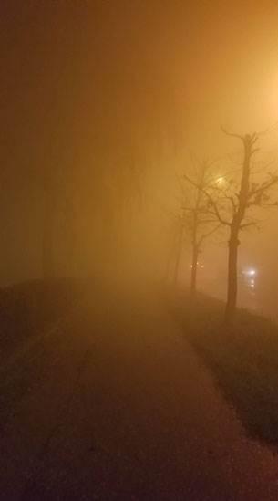 Banjaluka u magli, ne vidi se prst pred okom