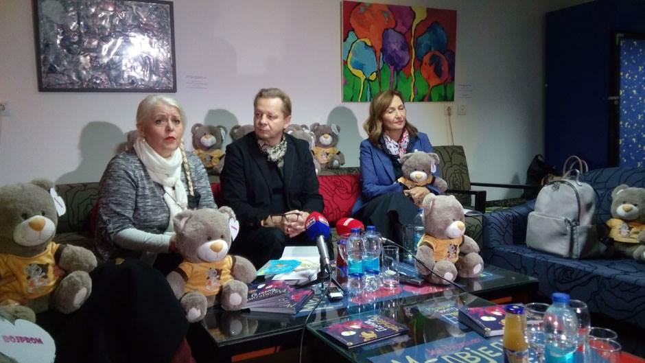 Medvjedić Timotej, Ljiljana Labović Marinković, Jaroslav Antonjuk