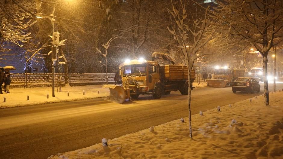 snijeg, grtalica