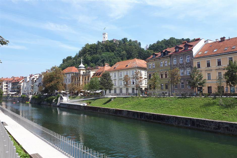 ljubljana, slovenija, ljubljanica, reka