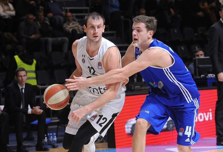 Novica Veličković Strahinja Mićović KK Partizan Mornar