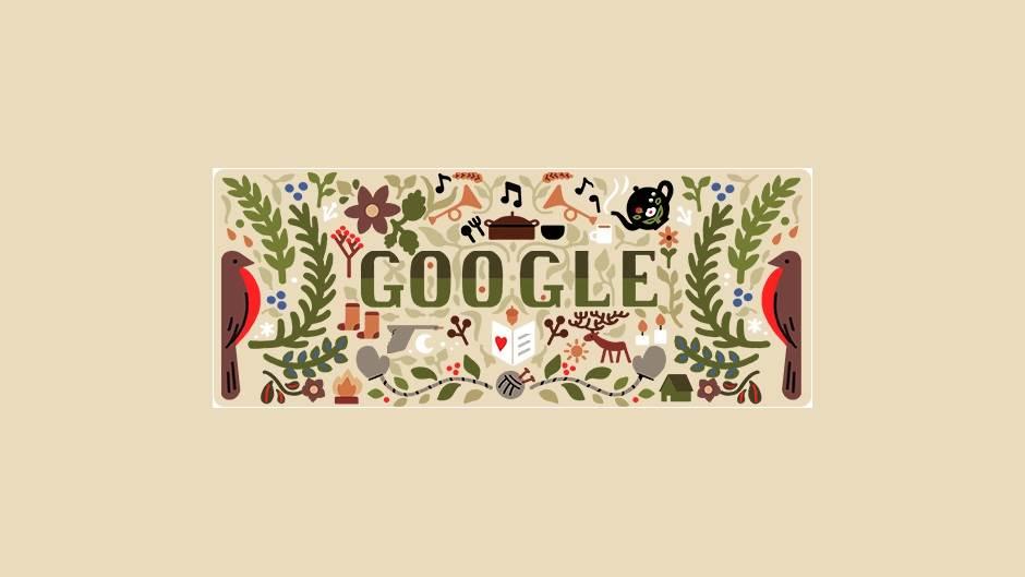 Google slavi Badnji dan