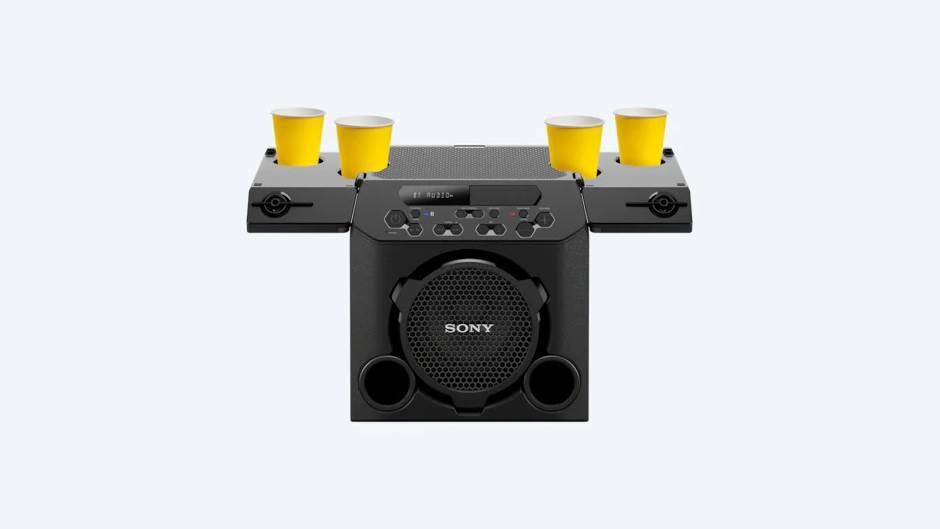 Uzbunjivač komšija i držač za pivo sa zvučnikom (FOTO)