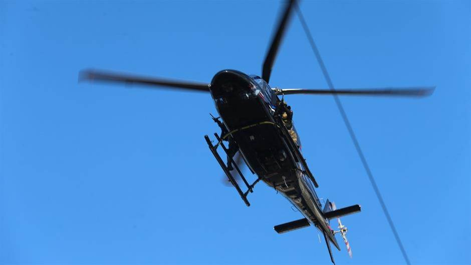 Dan RS, helikopter