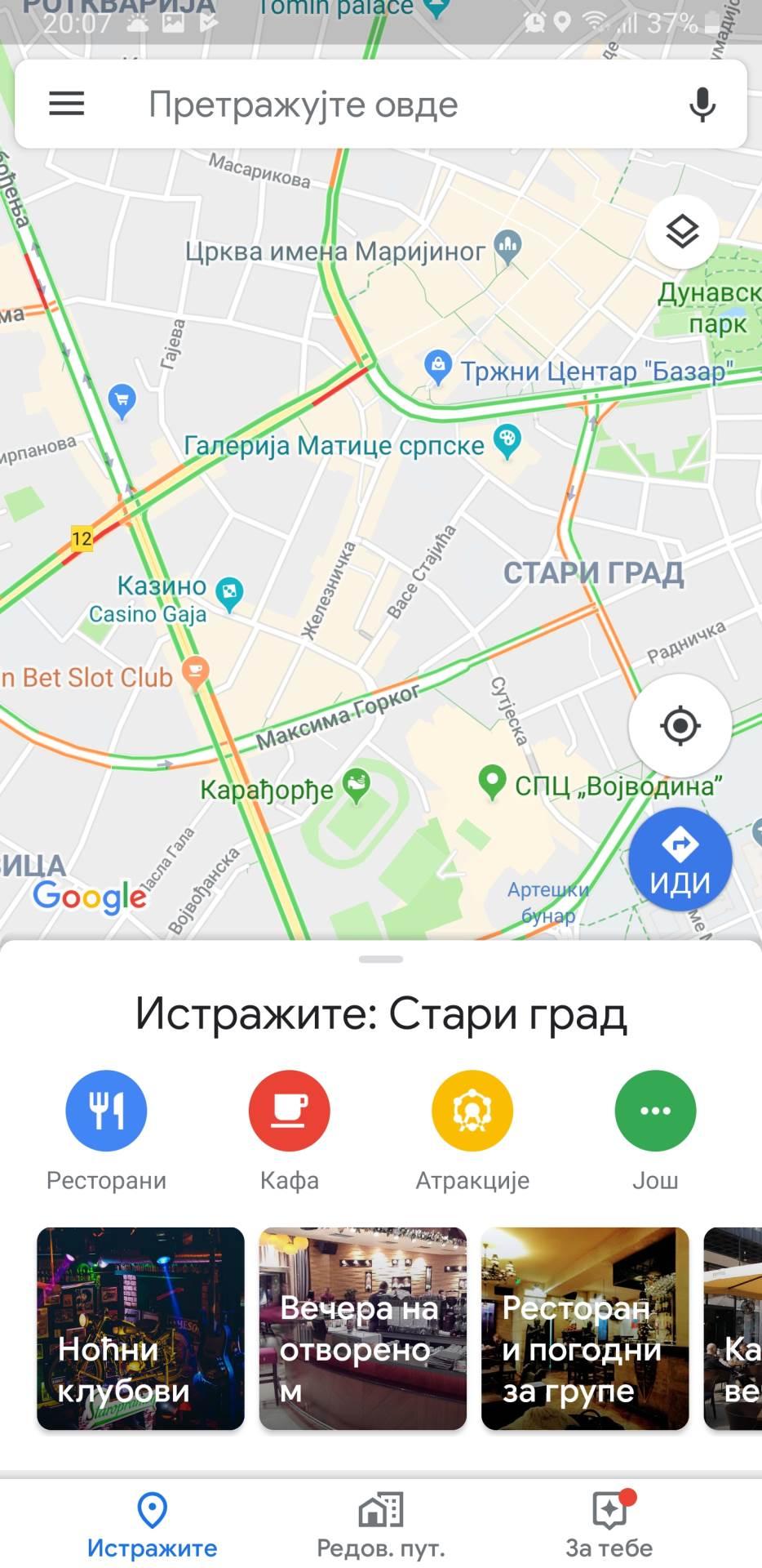 Google Maps: Evo kako sad izgleda aplikacija