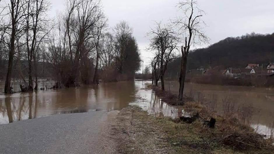 rijeka Bosna, poplava