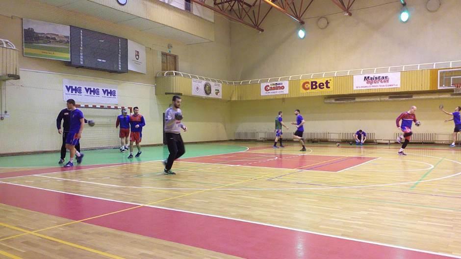 RK Borac m:tel trening u Litvaniji