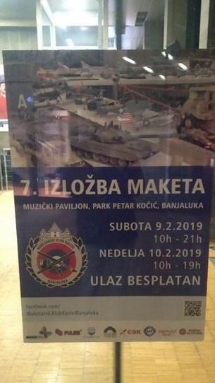 FOTO: Sedma izložba maketa u Banjaluci