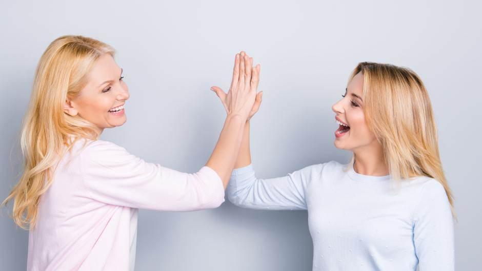 uspeh, žene, majka i ćerka