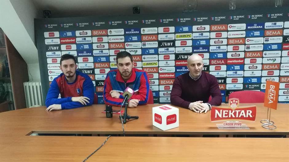 Miloš Nježić, Mirko Mikić, Nenad Rađević, RK Borac