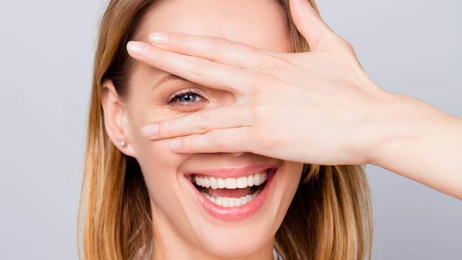 žena, uspeh, pogled, osmeh