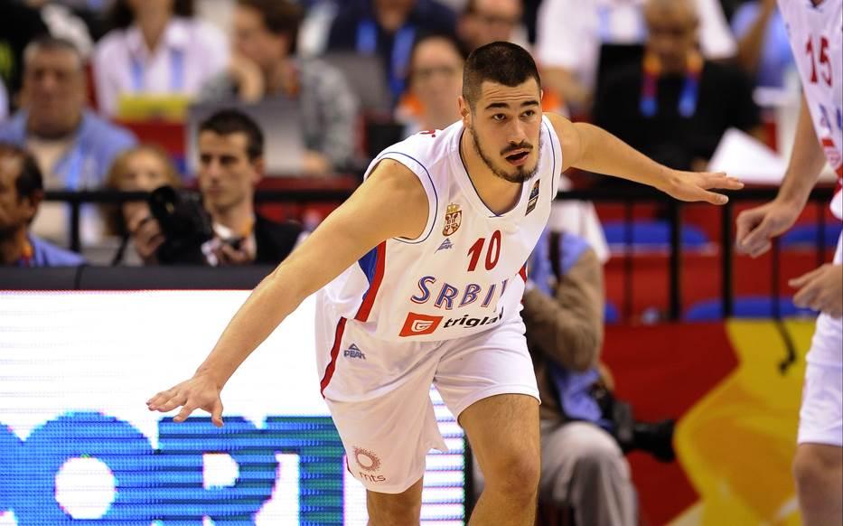 Nikola Kalinić u reprezentaciji Srbije.