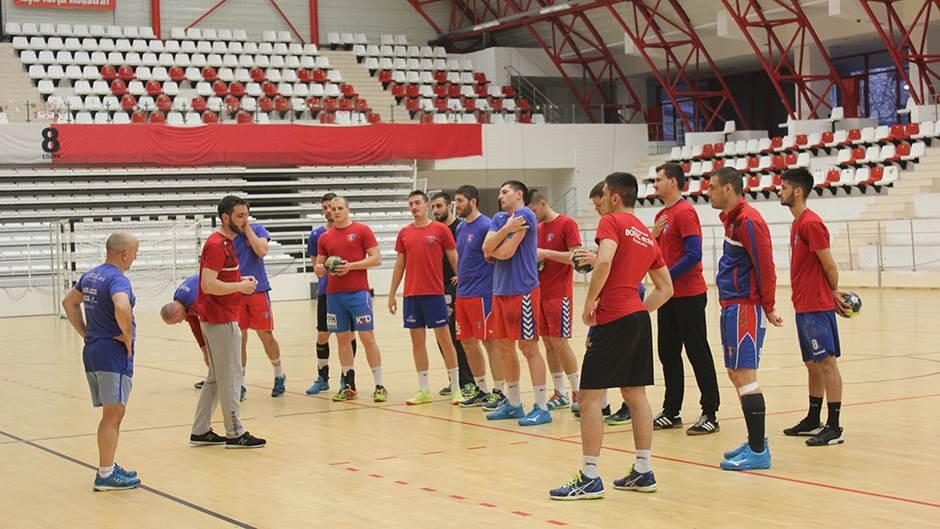 RK Borac trening u Bukureštu