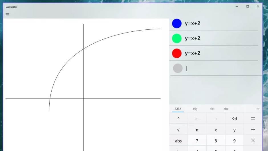 Calculator Windows 10 jednačine, GitHub open source Windows 10 Calculator, Napredni kalkulator