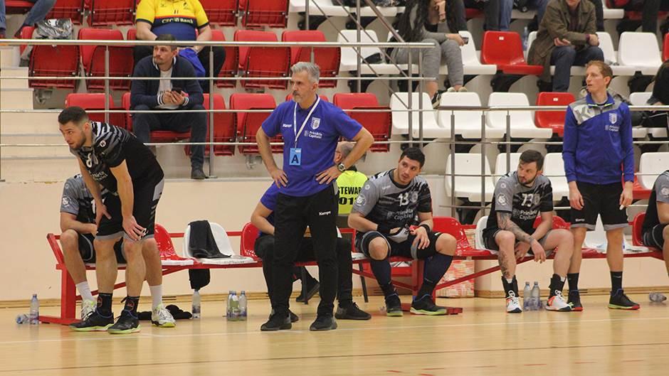 Paolo Pereira, trener ČSM Bukurešt