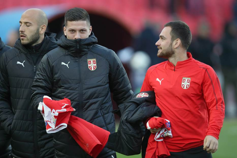 Luka Jović i Andrija Živković