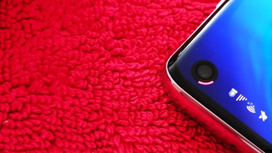 Energy Ring aplikacija za Galaxy S10, Selfi kamera indikator baterije, Selfi kamera Energy Ring S10