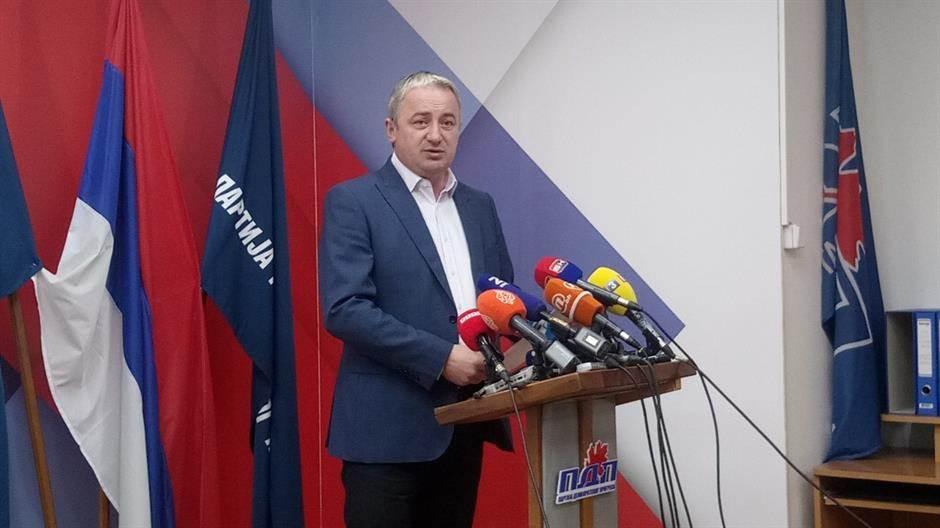 Branislav Borenović, PDP